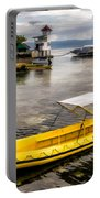 Yellow Tour Boat Portable Battery Charger