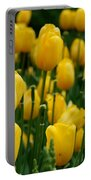 Yellow Tulip Sea Portable Battery Charger