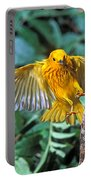 Yellow Warbler Dendroica Petechia Portable Battery Charger