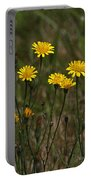 Yellow Wild Flowers Along The Chehalis Trail Portable Battery Charger
