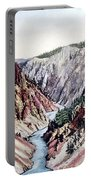 Yellowstone Canyon Yellowstone Np Portable Battery Charger