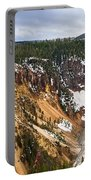 Yellowstone Falls Panorama Portable Battery Charger