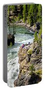 Yellowstone - Upper Falls Portable Battery Charger