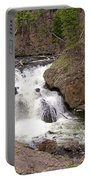 Yellowstone Waterfalls Portable Battery Charger