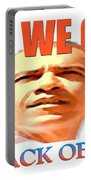 Yes We Can - Barack Obama Portable Battery Charger