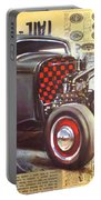Yesterday Hotrod Portable Battery Charger