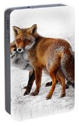 Yin Yang _ Red Fox Love Portable Battery Charger