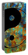 Yin Yang Abstract Portable Battery Charger