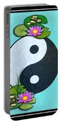 Yin Yang Koi Pond Scenery Portable Battery Charger