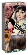 Yorkshire Terrier Art Canvas Print - My Fair Lady Movie Poster Portable Battery Charger