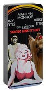 Yorkshire Terrier Art Canvas Print - Some Like It Hot Movie Poster Portable Battery Charger