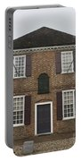 Yorktown Customs House Portable Battery Charger by Teresa Mucha