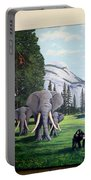 Yosemite Dreams Mural On Doors Portable Battery Charger