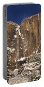 Yosemite Falls And Lost Arrow Yosemite National Park  Portable Battery Charger