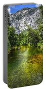 Yosemite Merced River Rafting Portable Battery Charger