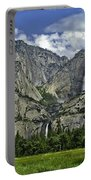 Yosemite Upper And Lower Falls Portable Battery Charger