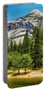 Yosemite Valley Along Yosemite River Beach Portable Battery Charger