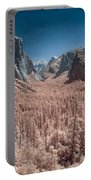 Yosemite Vally In Infrared Portable Battery Charger