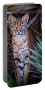 Young Bobcat Portable Battery Charger