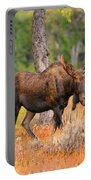 Young Bull Moose Portable Battery Charger