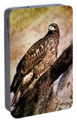 Young Eagle Pose II Portable Battery Charger