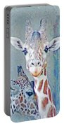Young Giraffes Portable Battery Charger