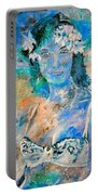young lady in Papeete Portable Battery Charger