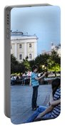 Young Lovers And Other Strangers - Moscow- Russia Portable Battery Charger