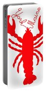 York Maine Lobster With Feelers Portable Battery Charger