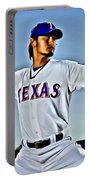 Yu Darvish Painting Portable Battery Charger