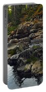 Yuba River Rocks Portable Battery Charger