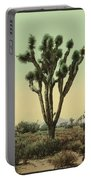 Yucca Cactus At Hesperia California Portable Battery Charger