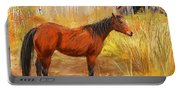 Yuma- Stunning Horse In Autumn Portable Battery Charger