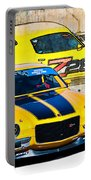 Yellow Z28 Camaro Portable Battery Charger