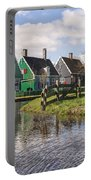 Zaanse Schans Portable Battery Charger by Joana Kruse