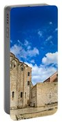 Zadar Cathedral Famous Landmark Of Croatia Portable Battery Charger