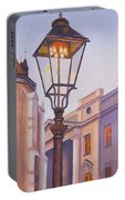 Zagreb Gaslight - Croatia Portable Battery Charger