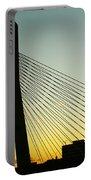 Zakim Bridge Silhouette Portable Battery Charger