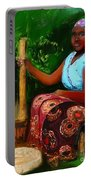 Zambia Woman Portable Battery Charger