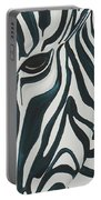 Zebra Portable Battery Charger by Aliya Michelle