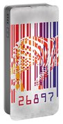 Zebra Barcode Portable Battery Charger by Mark Ashkenazi