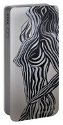 Zebra Body Paint Portable Battery Charger