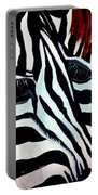 Zebra Couple Portable Battery Charger