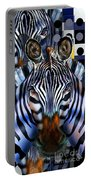 Zebra Dreams Portable Battery Charger