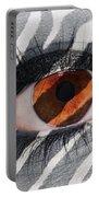 Zebra Eye Portable Battery Charger