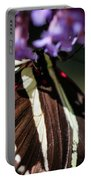 Zebra Heliconian Heliconius Charithonia Portable Battery Charger