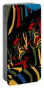 Zebra In The Jungle 2 Portable Battery Charger