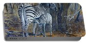 Zebra Mother And Foal Portable Battery Charger