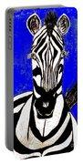 Zebra Portrait Portable Battery Charger