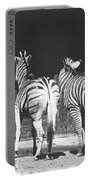 Zebras From Behind Portable Battery Charger